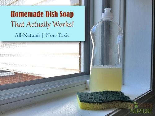 Manfaat Membuat Sabun Cuci Piring Sendiri