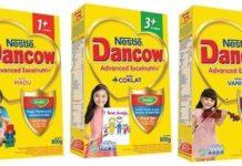 susu Dancow 3+